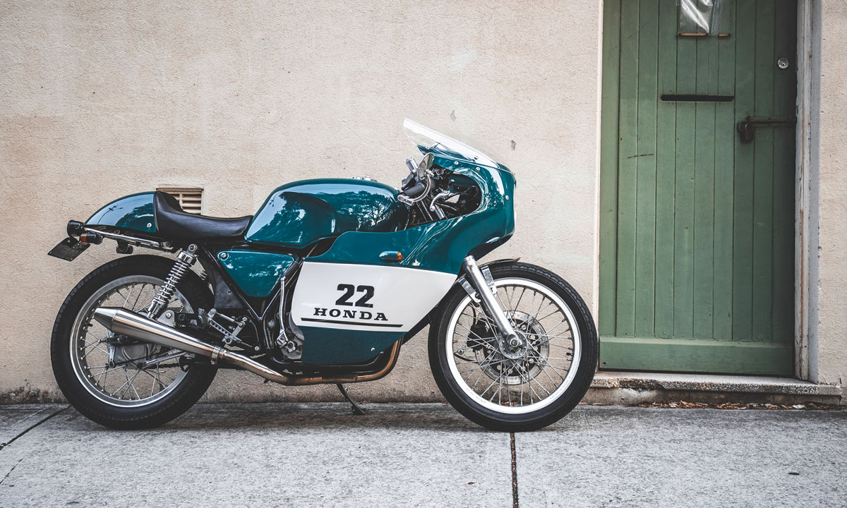 Sam Troy S Trophy Honda Gb400 Tt Cafe Racer Return Of The Cafe Racers