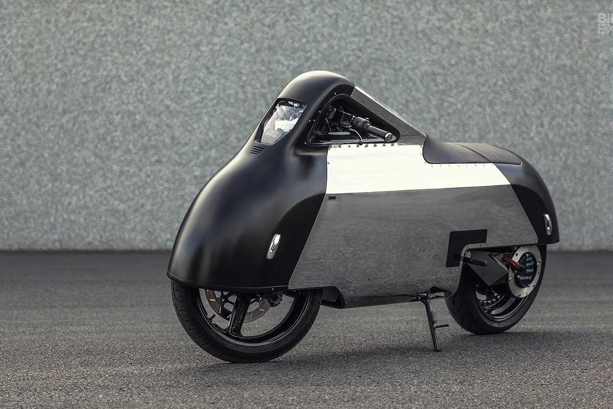 Shiny Hammer Electric Motorcycle