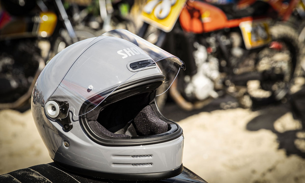 Shoei Glamster motorcycle helmet