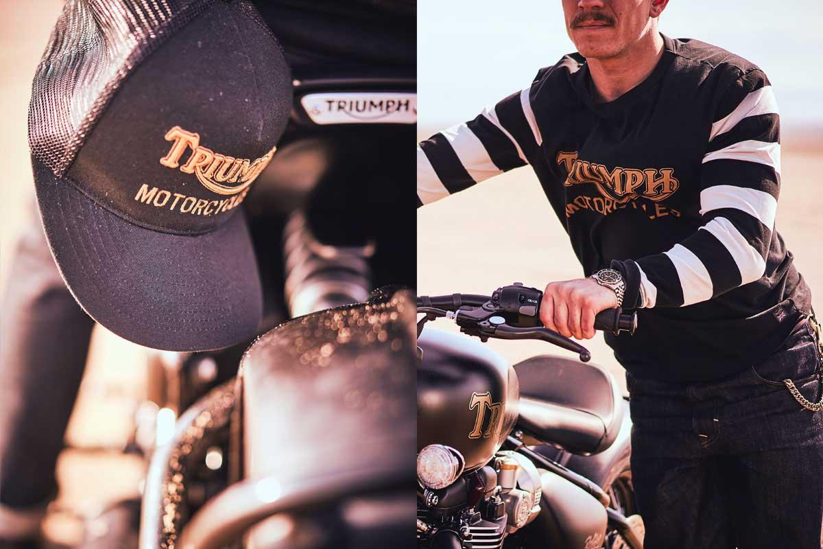 Triumph t apparel 2020