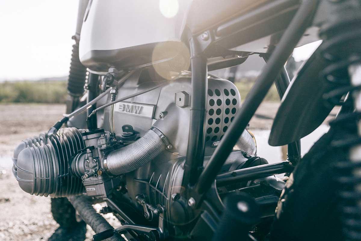 custom BMW R100 motorcycle