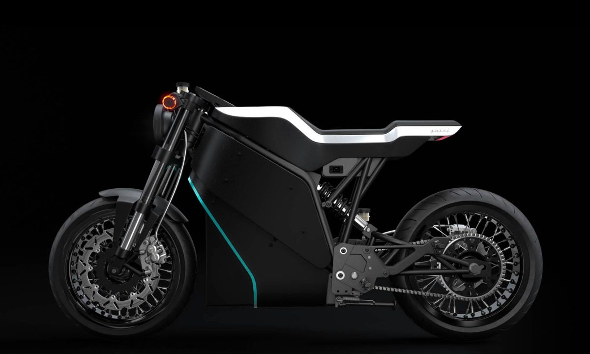 Yatari electric cafe racer