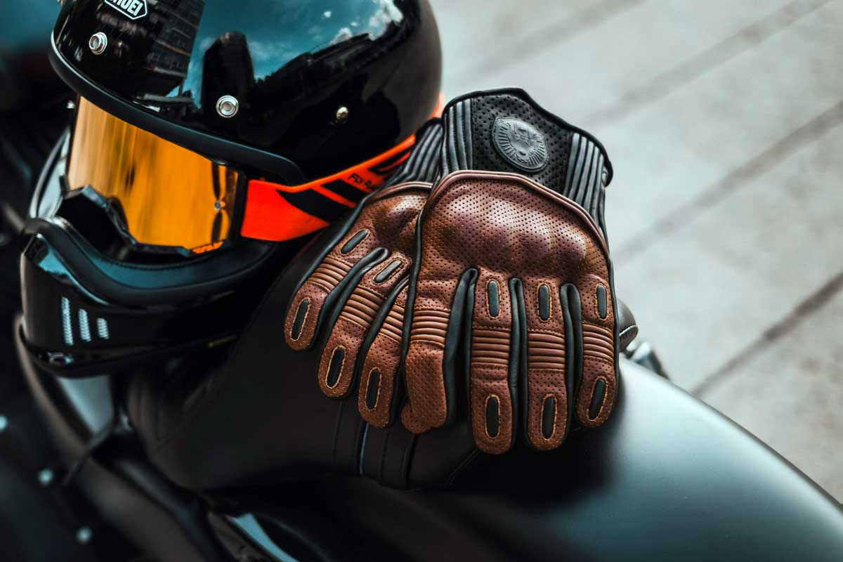 Cafe Racer Goldtop Predator gloves
