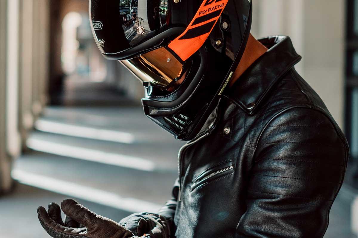 Shoei ex zero helmet