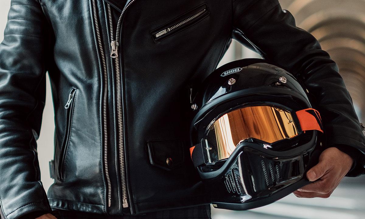 Shoei helmets MX style