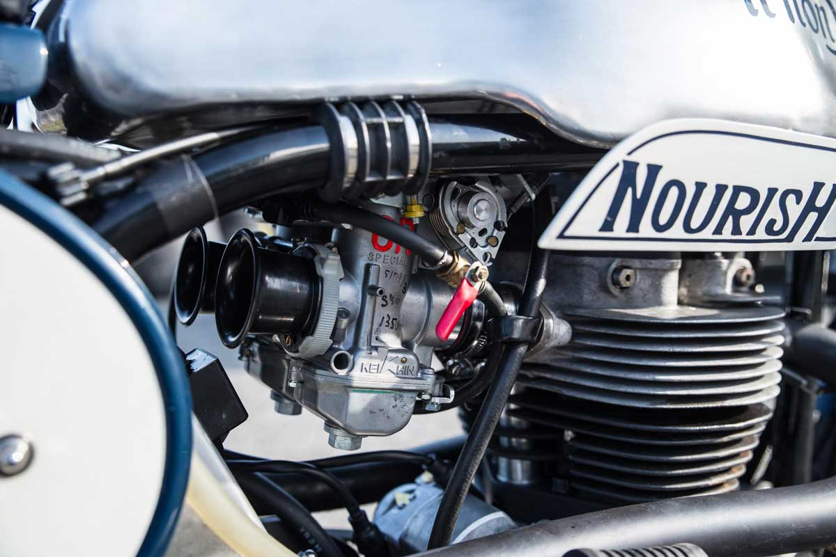 Nourish Triton Cafe Racer