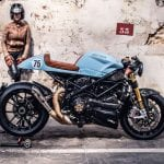 Ducati Streetfighter cafe racer