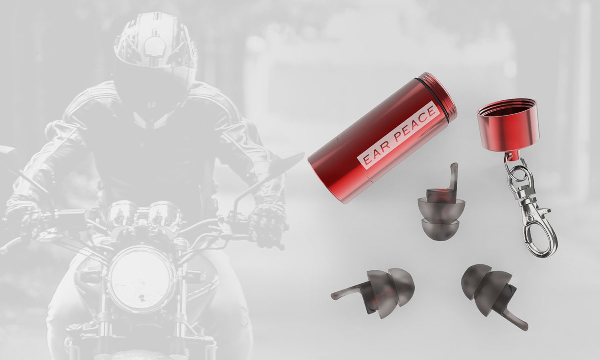 EarPeace motorcyclist ear plugs