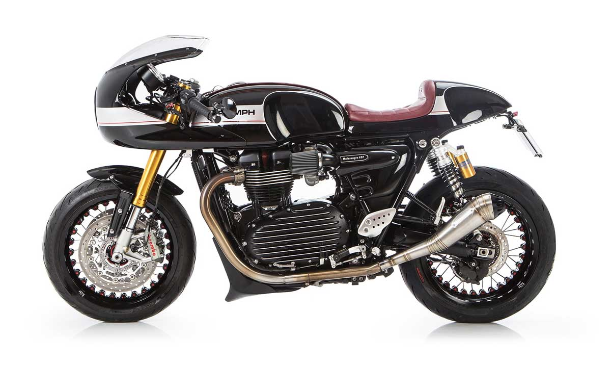 Custom Thruxton R