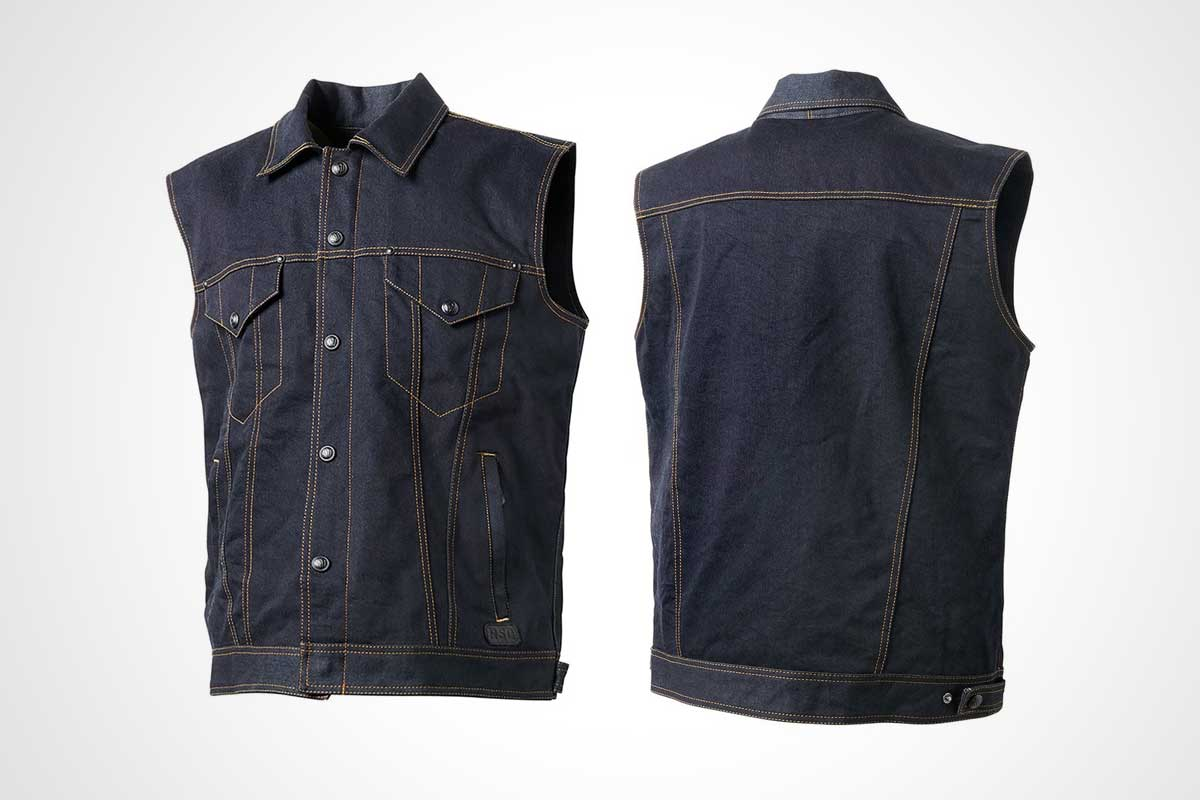 Roland Sands Tech Denim Vest