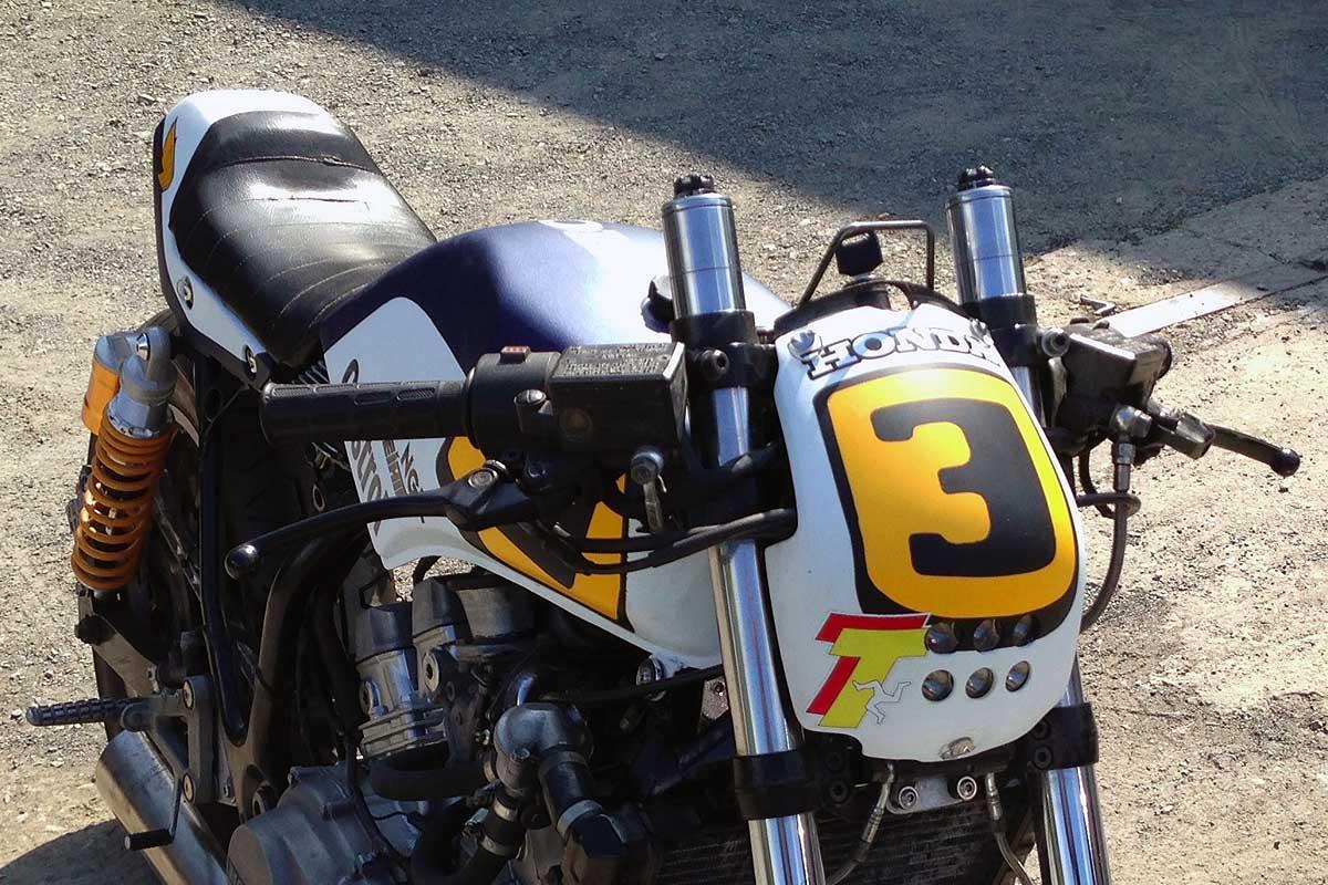 Honda VF500C custom