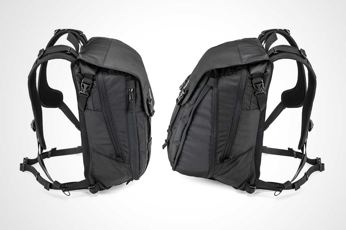 Expandable Motorcycle Backpack