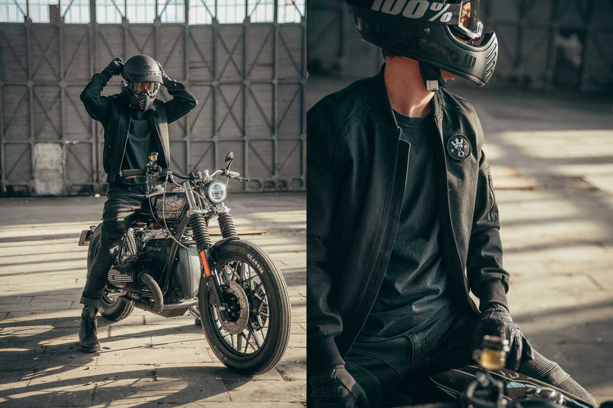 Motorcycle Bomber jacket