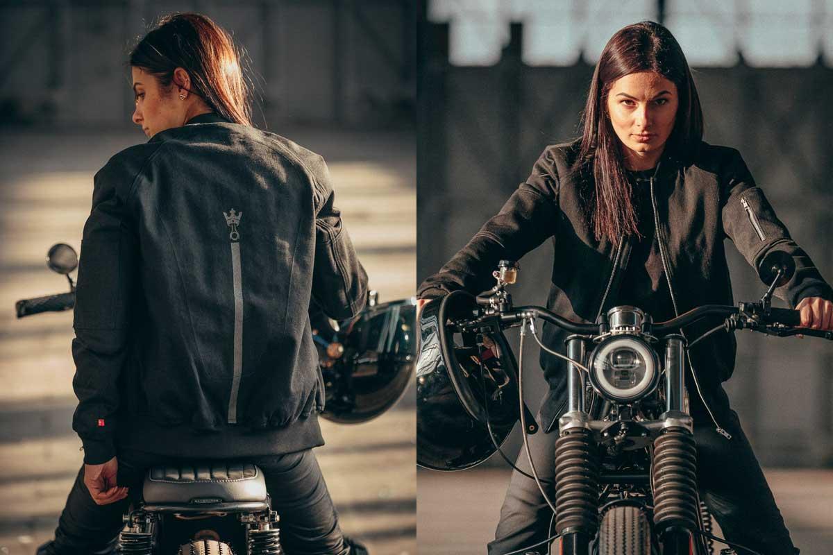 Motorcycle Bomber jacket