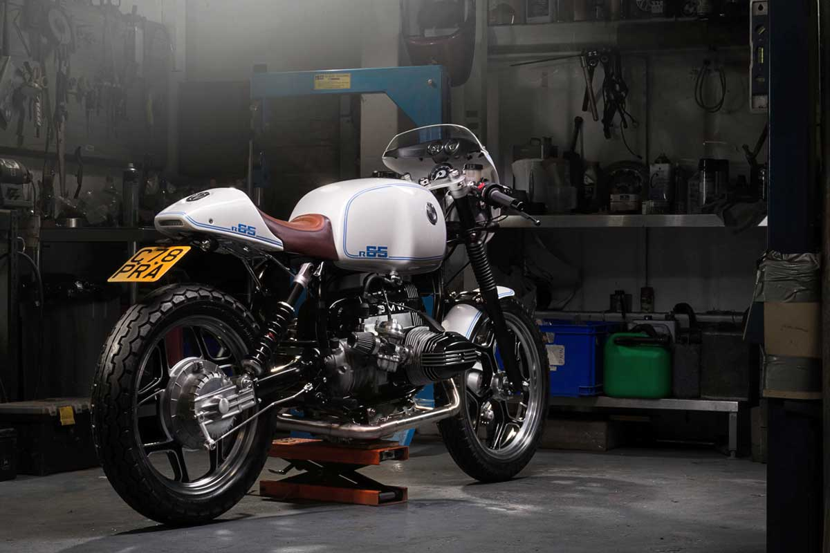 BMW R65 Cafe Racer