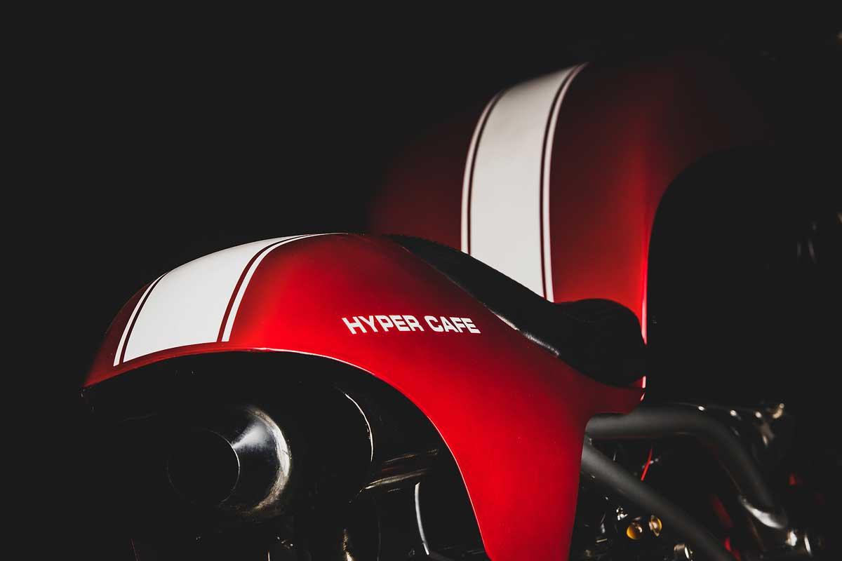 Ducati Hypermotard cafe racer
