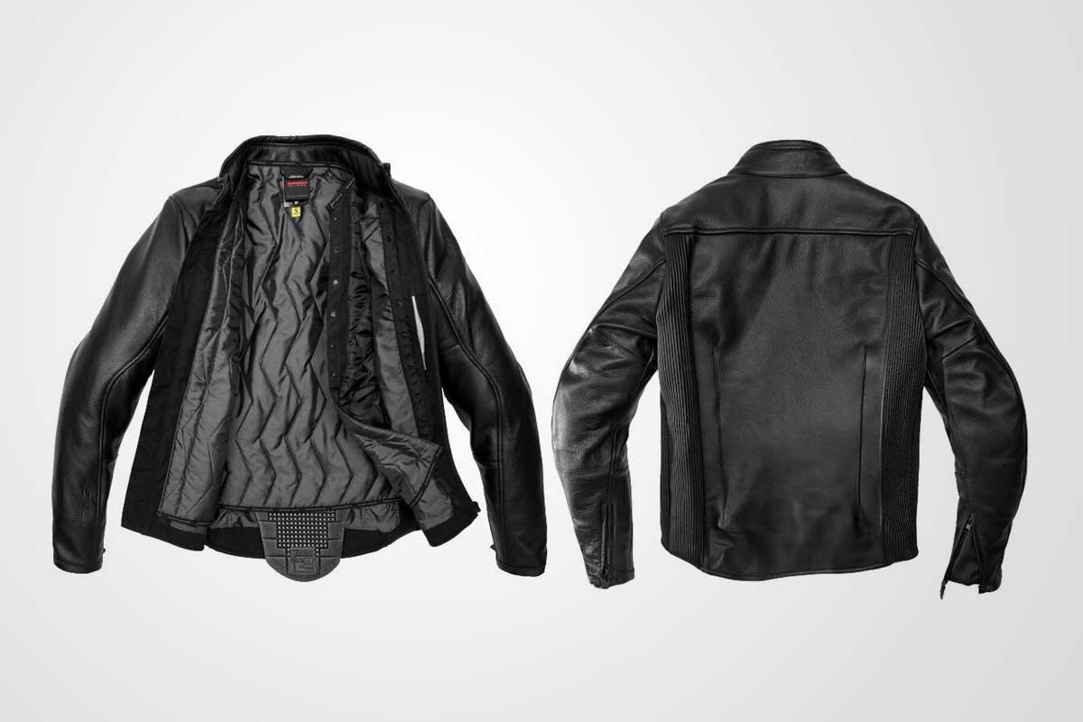 premium leather motorcycle jacket
