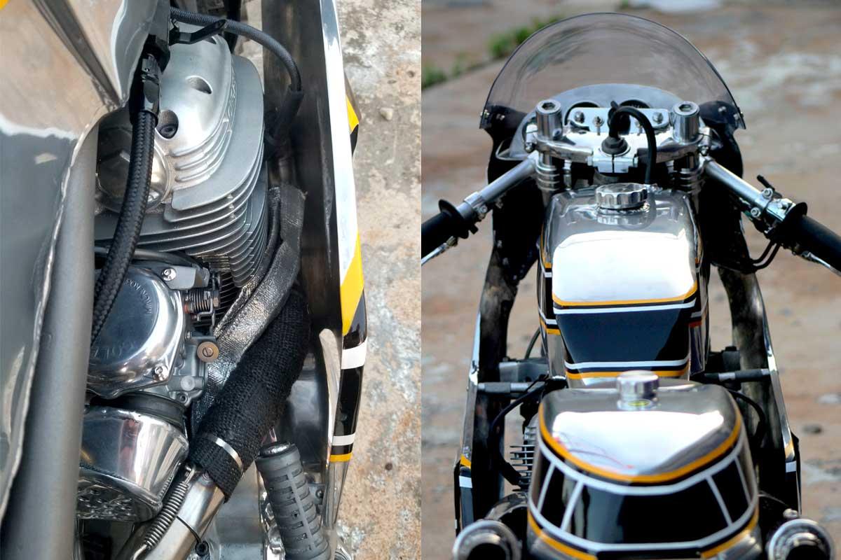 TX750A custom racer