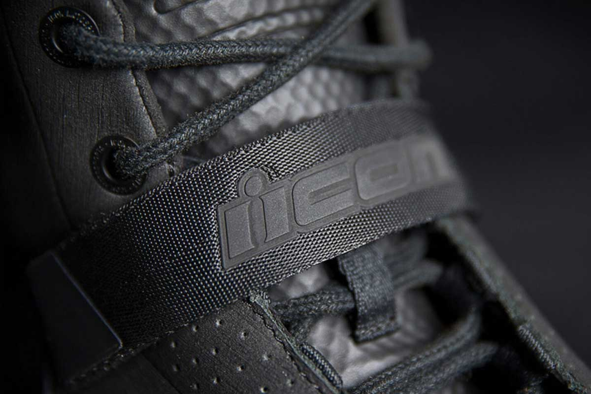 Icon motorcycle boots