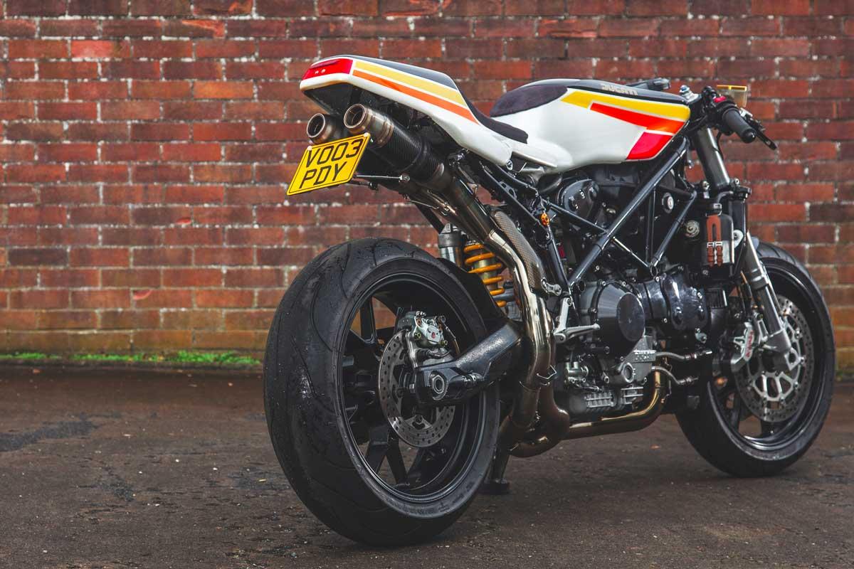 Ducati 749 cafe racer