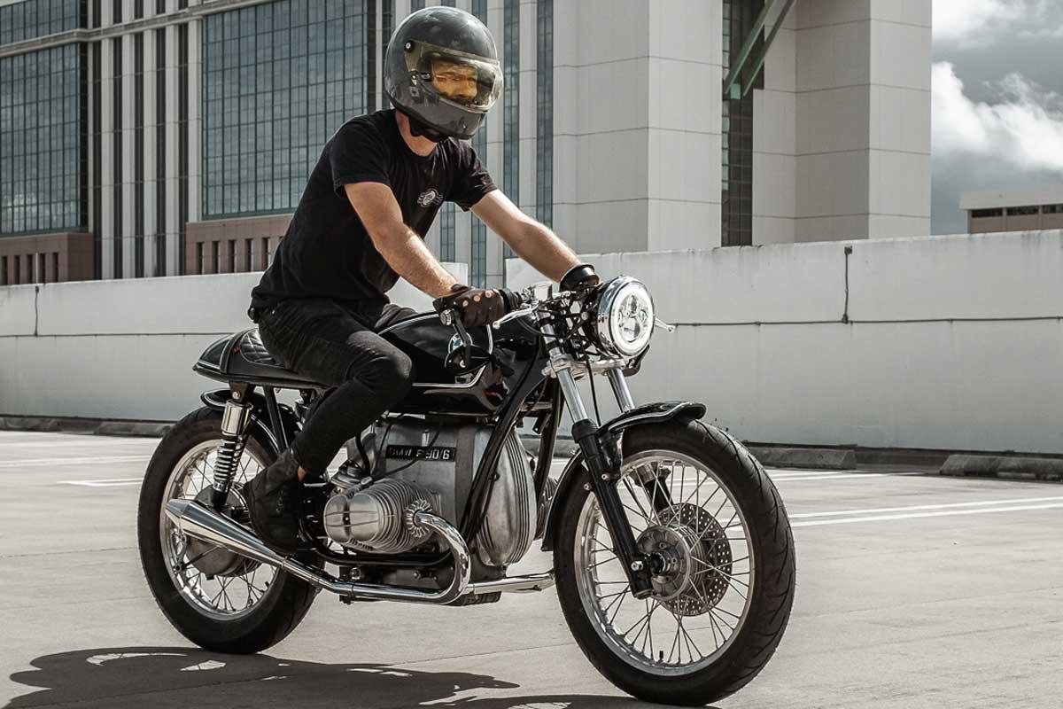 Custom R90 motorcycle