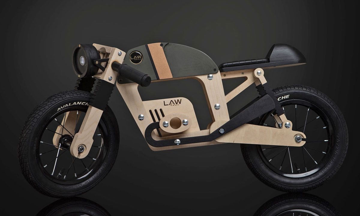 Cafe Racer Balance Bike