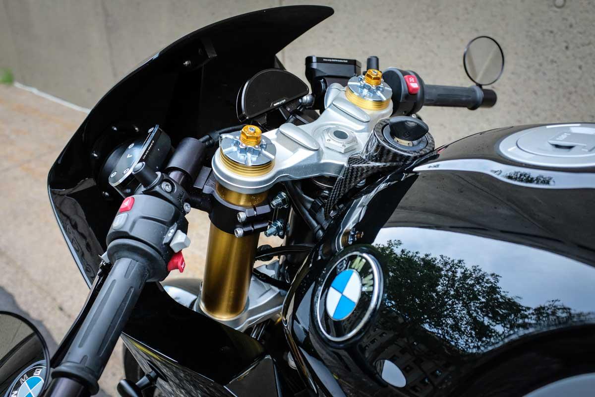 Modified BMW R nine T
