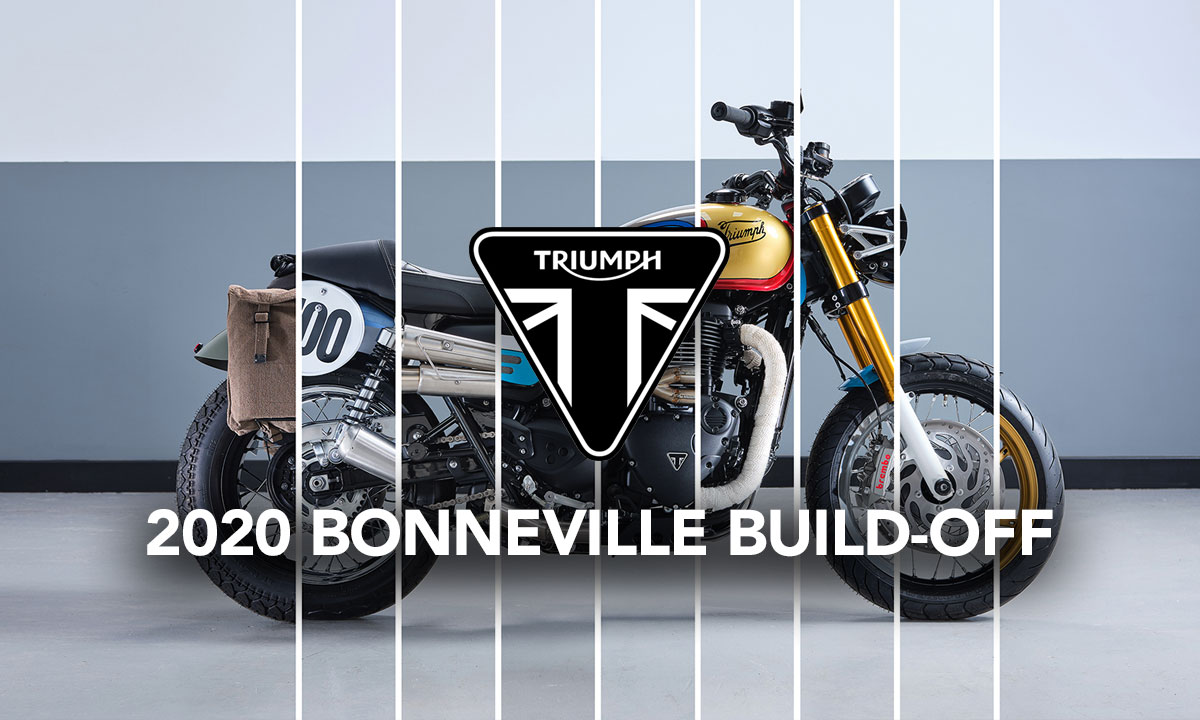 2020 Bonneville Build-Off