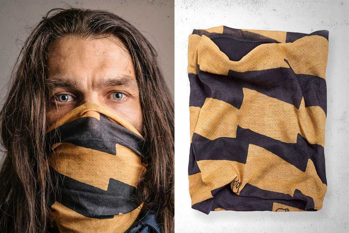 Motorcycle tube scarfs