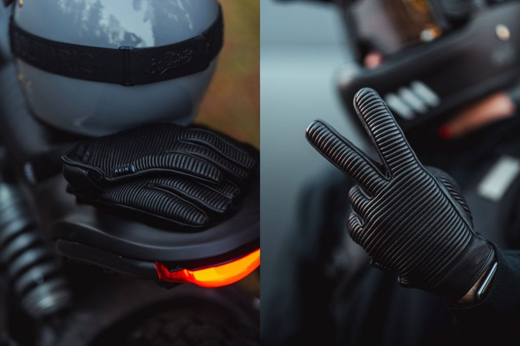 Akin Moto motorcycle gloves