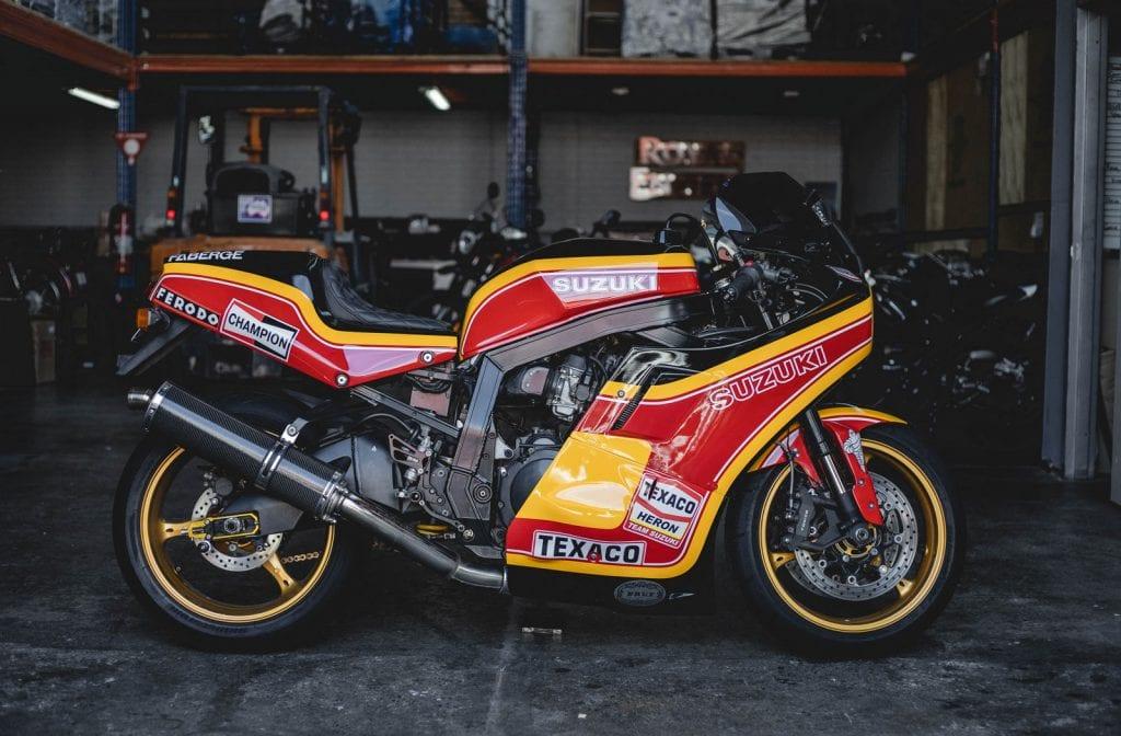 Barry Sheene Suzuki GSX-R 1100