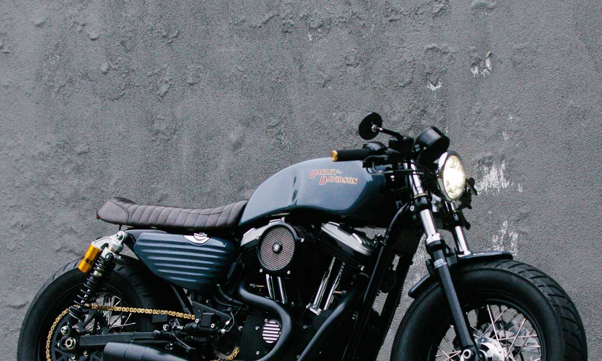 Unlikely Candidate Archie S H D Sportster 48 Return Of The Cafe Racers