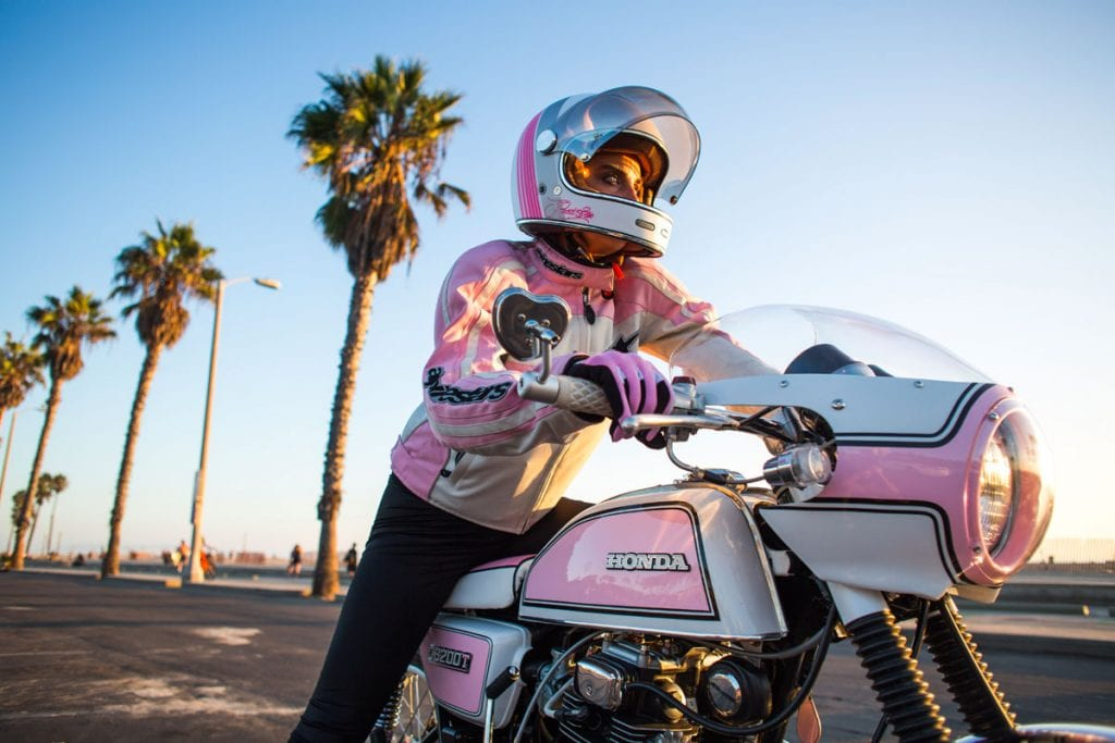 Honda CB200T cafe racer