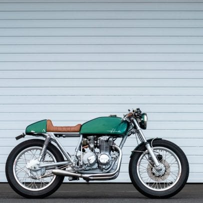 Honda CB400 cafe racer