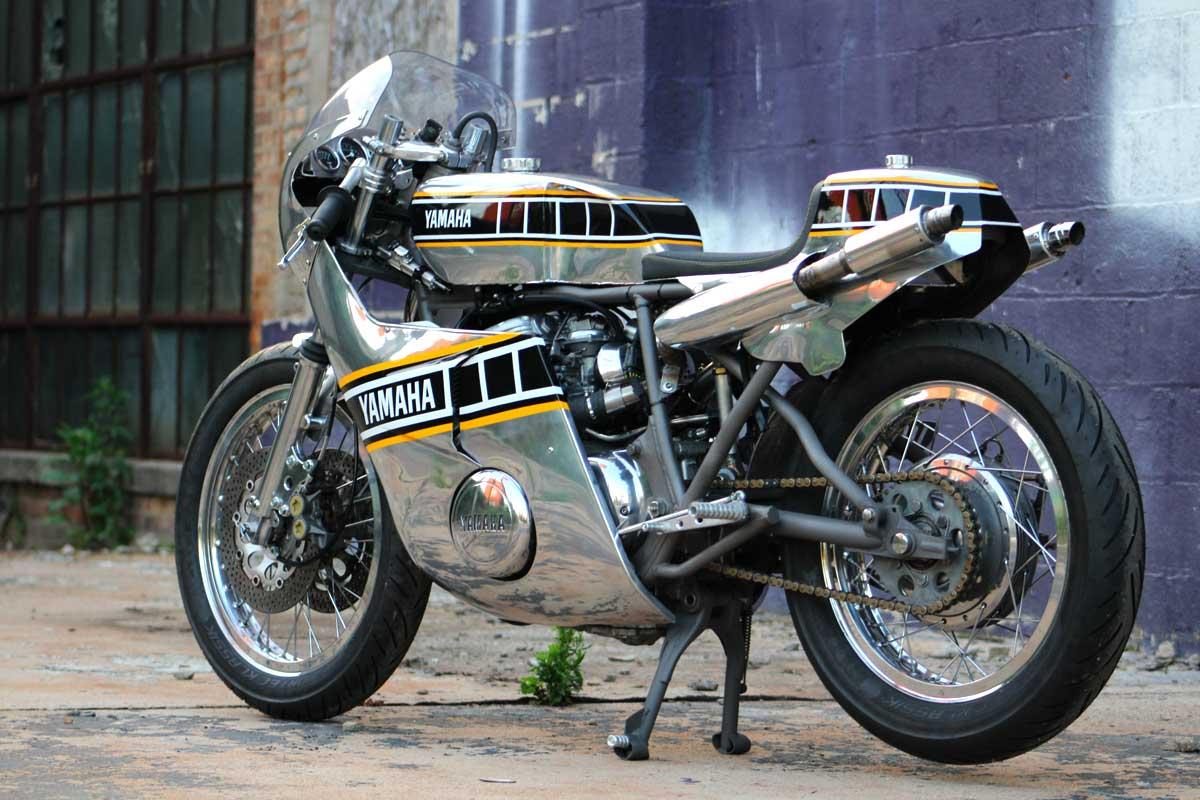 Yamaha TX750A cafe racer