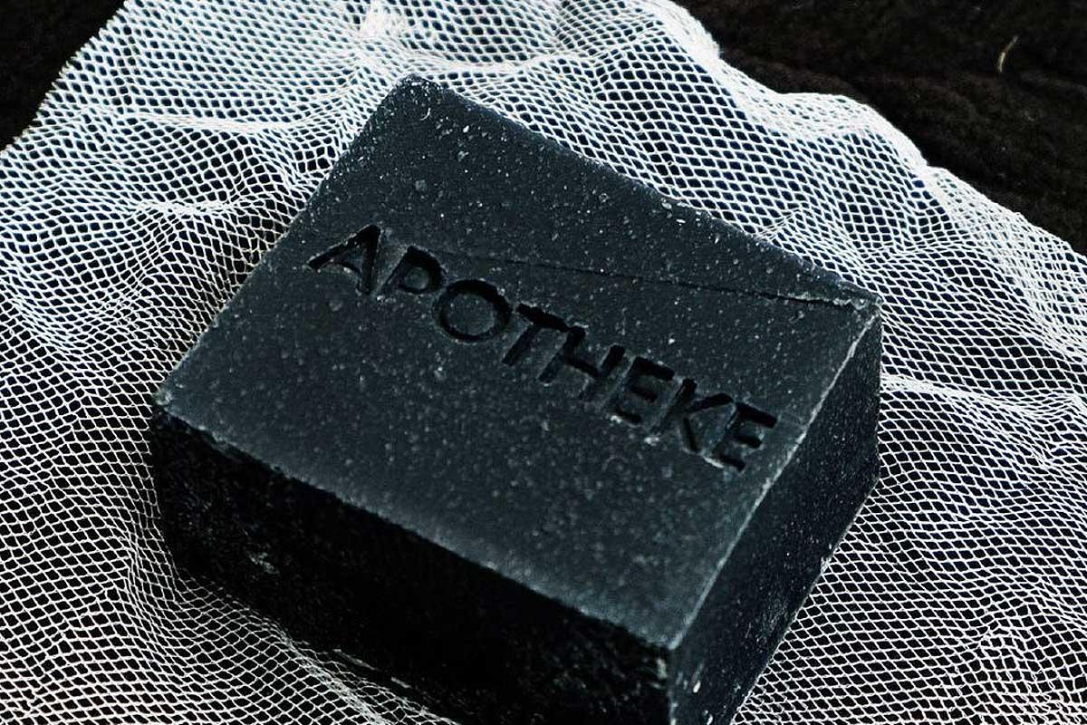 Apotheke charcoal soap
