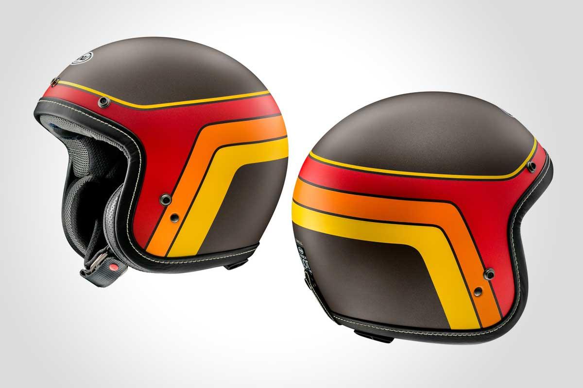 Arai Classic-V Groovy helmet