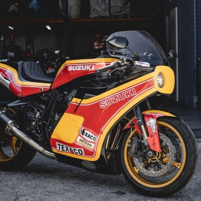 Barry Sheene Suzuki GSX-R 1100