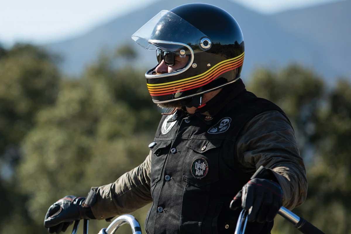 Biltwell Gringo S Spectrum helmet