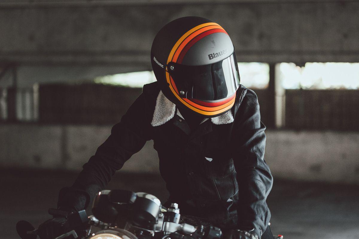 Blauer HT 80s helmet