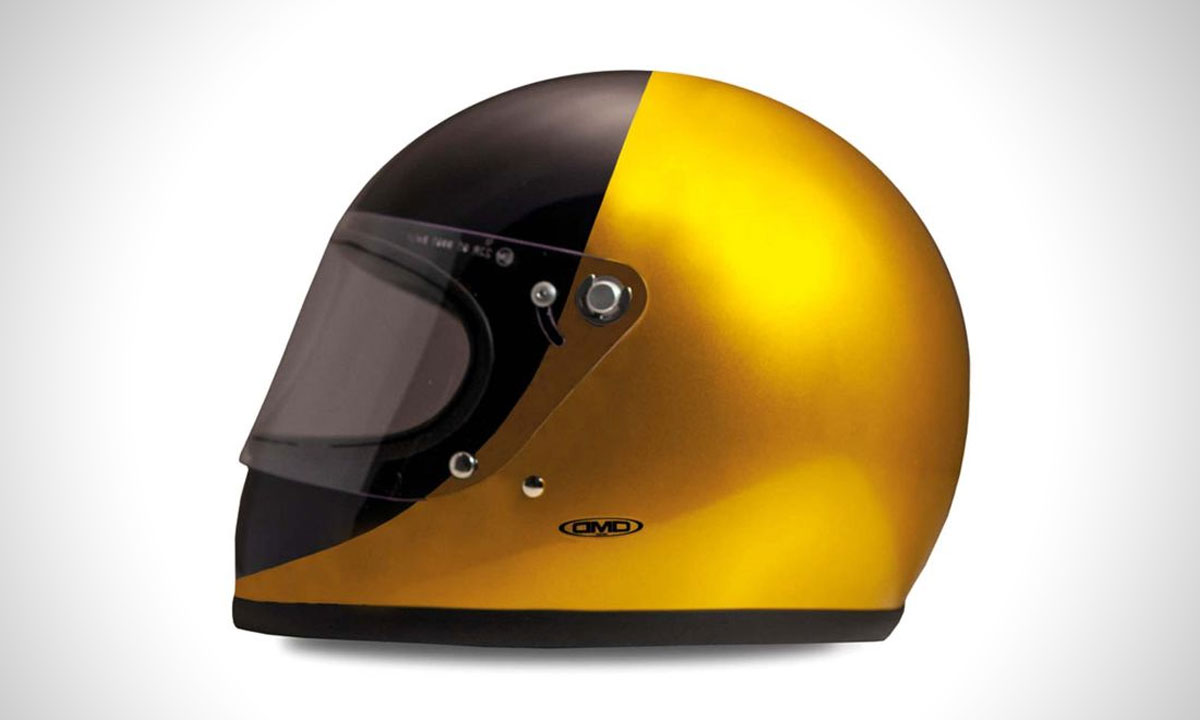 DMD Rocket Golden helmet