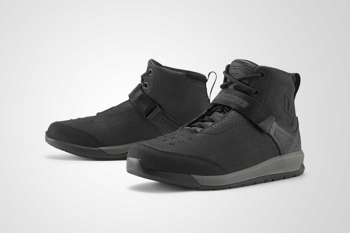 Icon Superduty 5 motorcycle sneakers