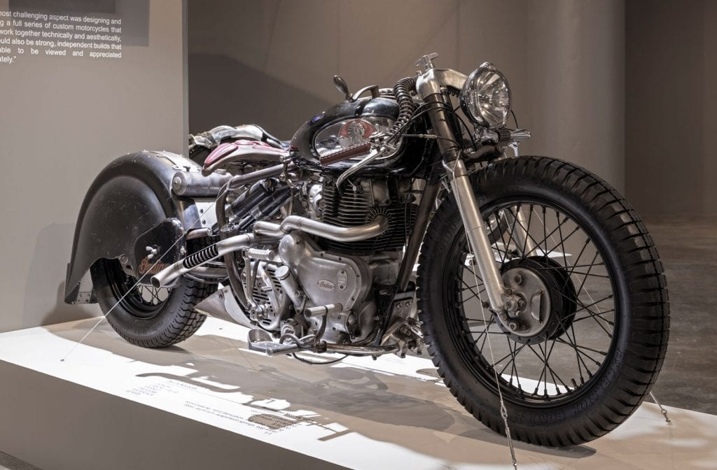 custom motorcycle exhibition