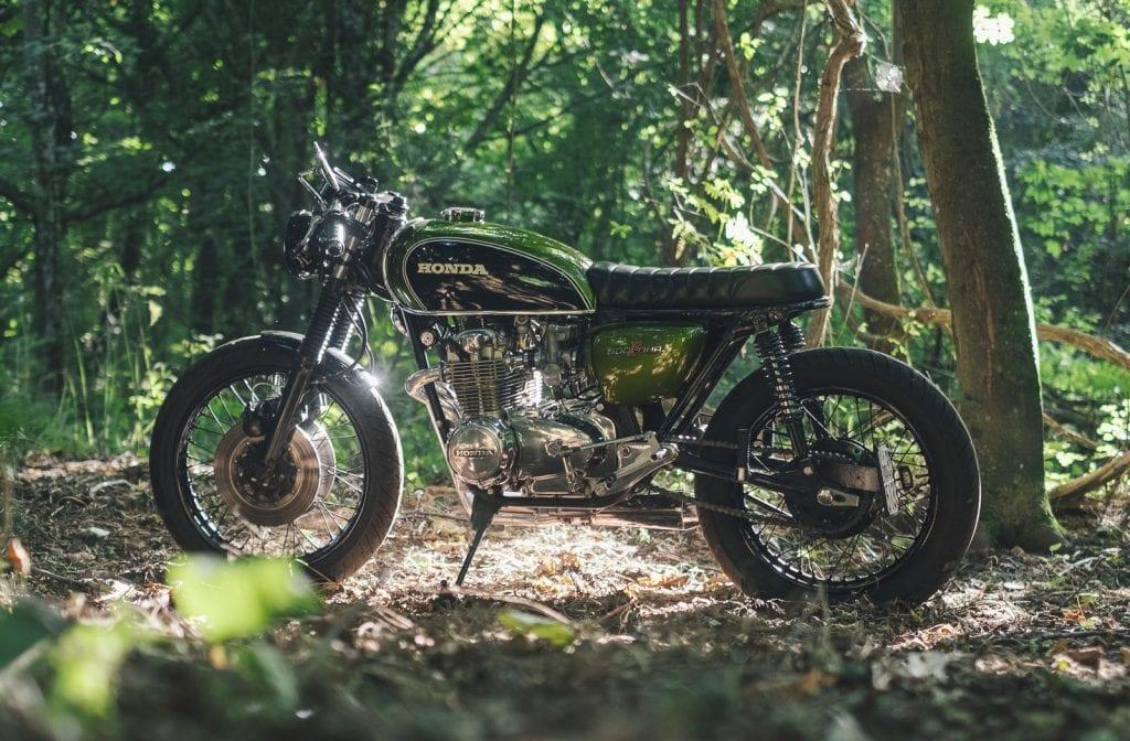Honda CB500 Four custom