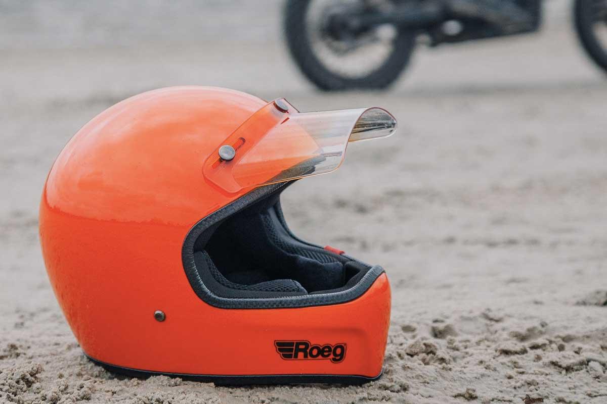 Roeg Peruna Oompa Orange helmet