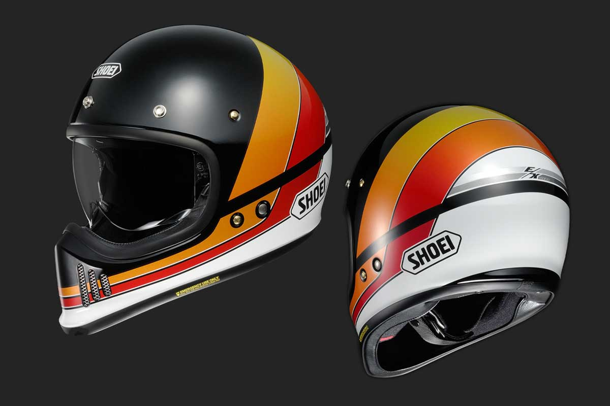 Shoei EX-Zero EQUATION TC10 helmet