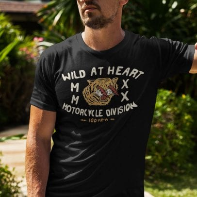 100mph Wild At Heart t-shirt