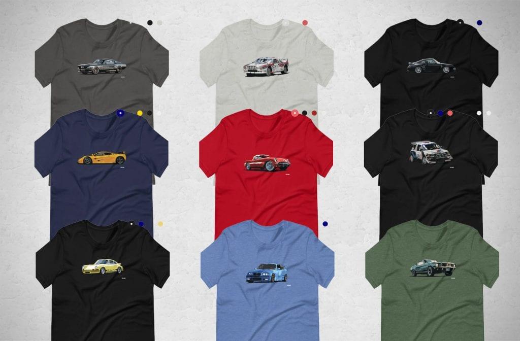 100mph t-shirts
