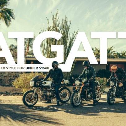 ATGATT Cafe Racer Style