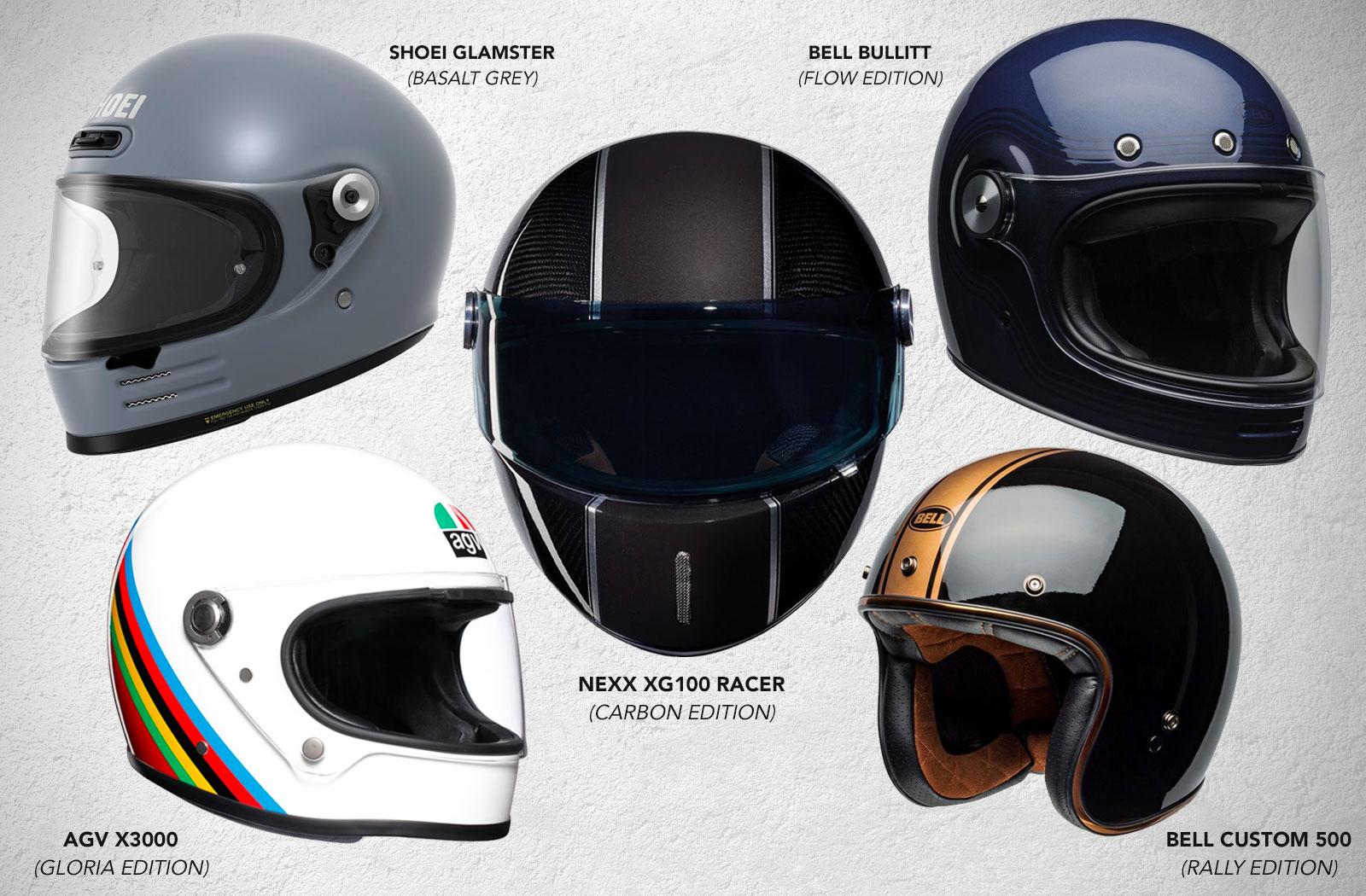 Cafe Racer helmets